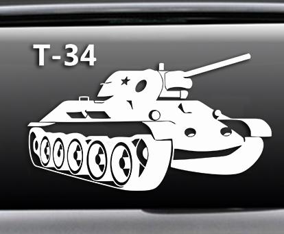 Наклейка Т34