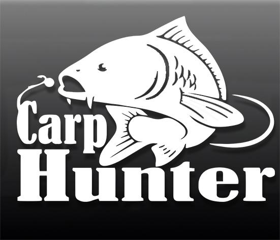 Наклейка на авто Carp Hunter