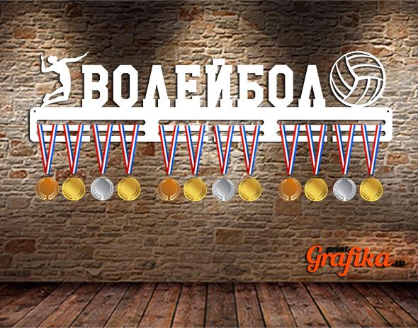 Медальница волейбол