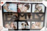 Фоторамка Family черная на 6 фото