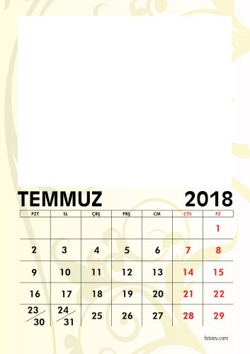 Temmuz 2018
