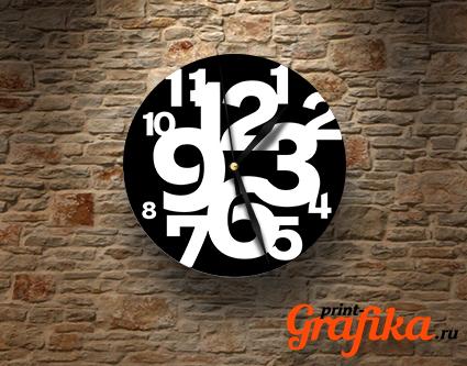 Часы different numbers