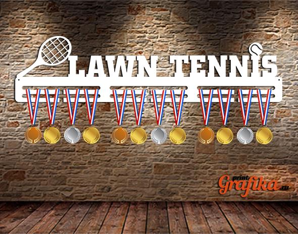 Медальница Теннис большой