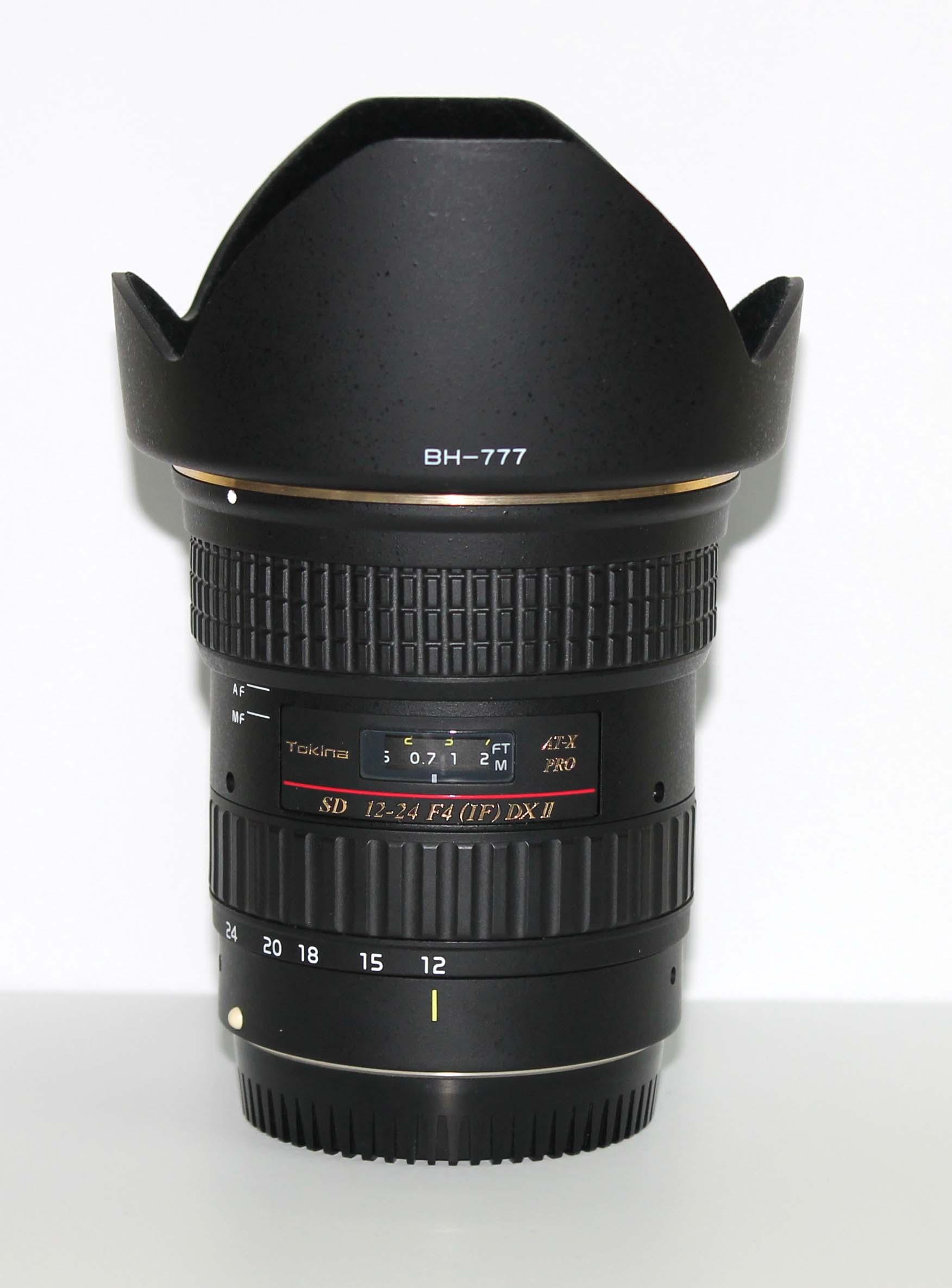 Объектив Tokina AT-X 124 DX II AF 12-24мм f/4.0 для Canon