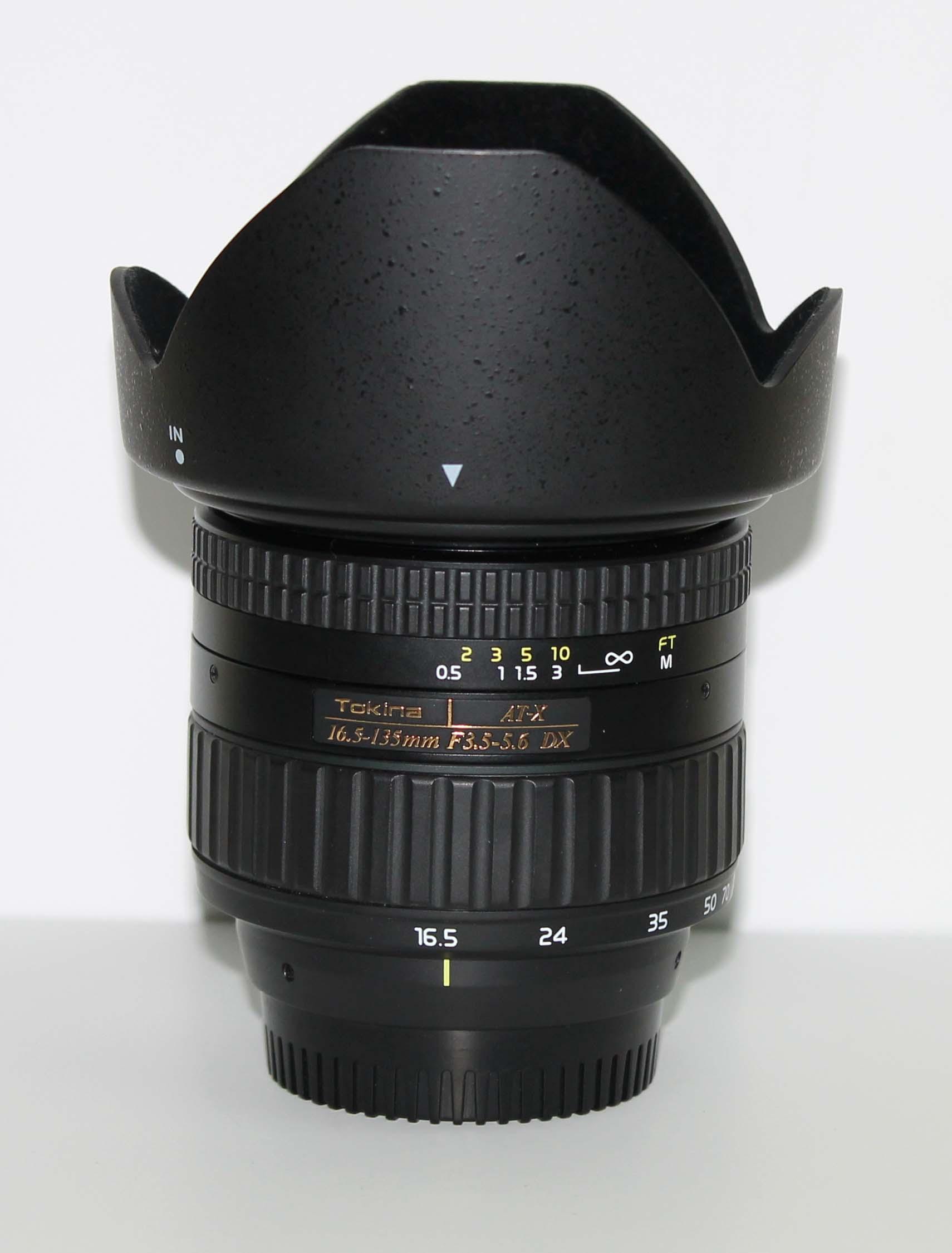 Объектив Tokina AT-X 16.5-135 mm DX f/3.5-5.6  Nikon