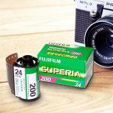 "Фотопленка ""Fuji Superia"", цветная, 24 кадра, ISO 200"