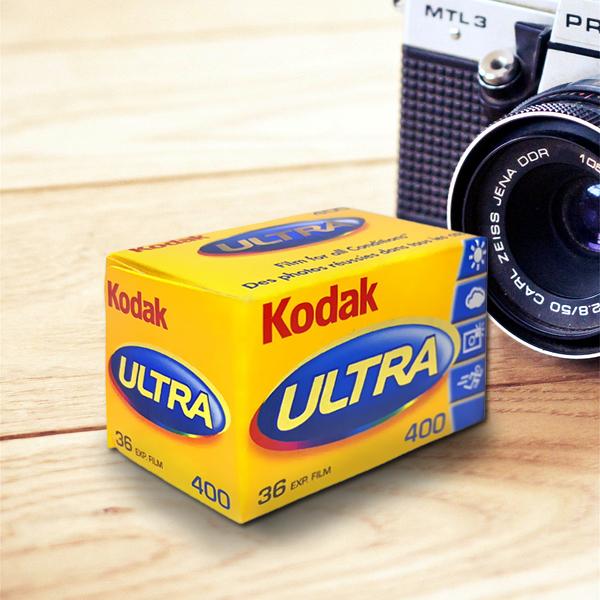 "Фотопленка ""Kodak Ultra"", цветная, 36 кадров, ISO 400"