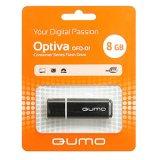 Флэш-диск QUMO 08 Gb Optiva-01 Black