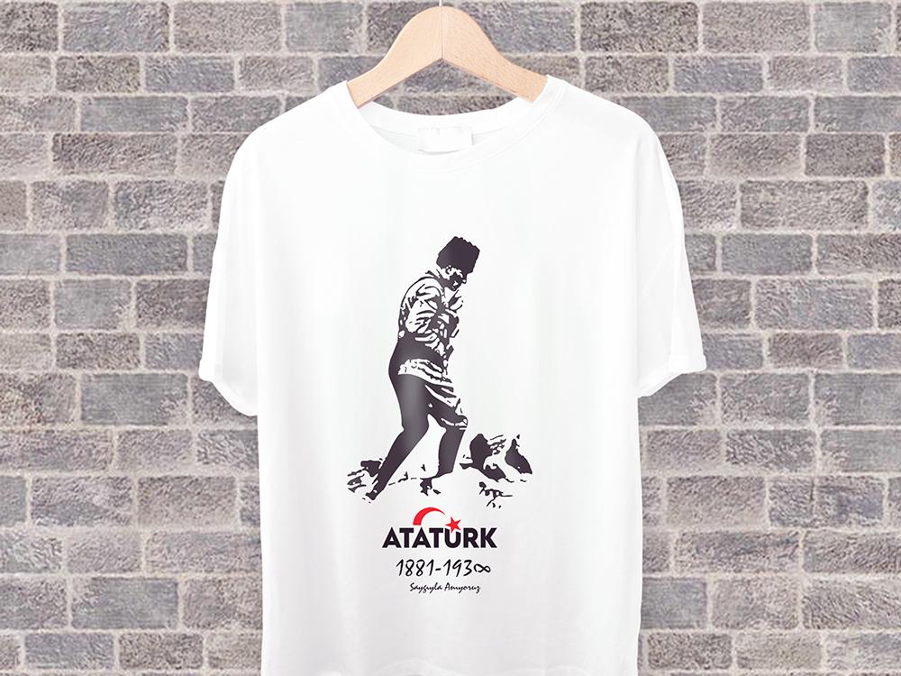 Atatürk Tshirt 9