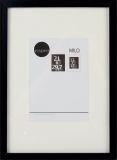 Фоторамка Milo 21x29,7 black