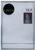 Фоторамка Lila 21x29,7 silver