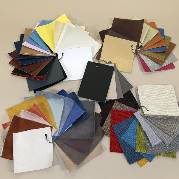 Образцы материалов обложек фотокниг (полный комплект)