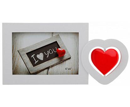 Фоторамка Platinum с сердцем на 1 фото