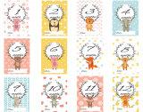 Newborn baby cards for girls 1