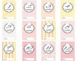 Newborn baby cards for girls 2