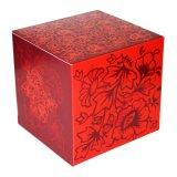 """Коробка для фотокружки """"Красные узоры"""""""