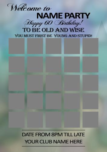 Poster 60th Birthday 6.psd