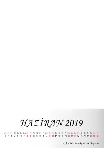 Haziran 2019