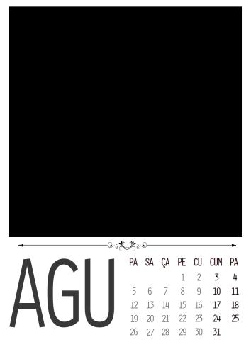 Ağustos